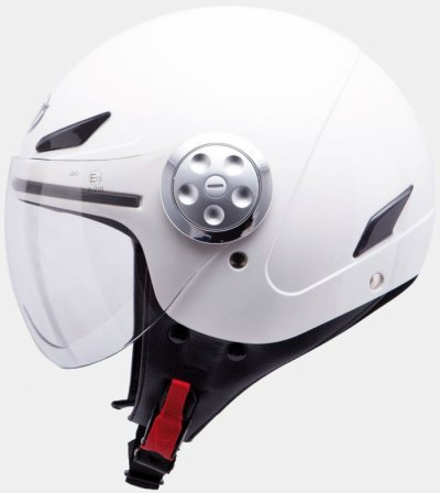 MT Helmets Urban Kids Solid White