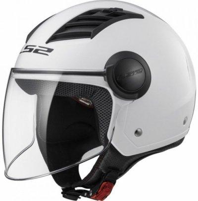 Открытый шлем LS2 OF562 AIRFLOW LONG GLOSS WHITE