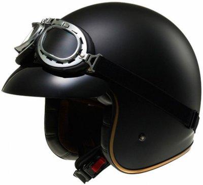 Открытый шлем LS2 OF583 Bobber Black Matt