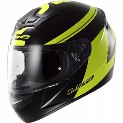 Шлем LS2 FF352 Rookie Fluo Hi-Vis Yellow