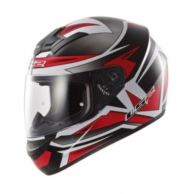 Шлем LS2 FF352 Rookie Gamma Black-Red