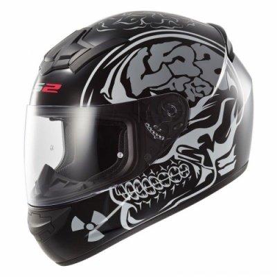 Шлем LS2 FF352 Rookie X-Ray Black Matte
