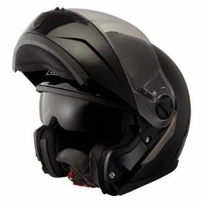 Шлем Модуляр LS2 FF386 Ride Solid Black Matt