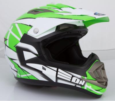 Шлем GEON 614 Кросс MX-Spirit Neon Green