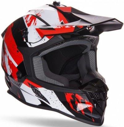 Шолом GEON 633 MX Fox Крос Red / Black