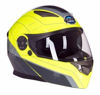 Шлем GEON 950 Модуляр с очками TOUR GREY/YELLOW