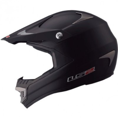 Кроссовый шлем LS2 MX433 Race Solid Black Matt