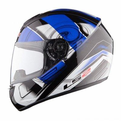Шлем LS2 FF351 Action Black-Blue