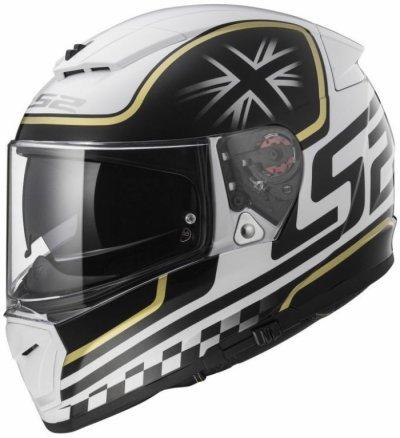 Шлем LS2 FF390 BREAKER CLASSIC WHITE BLACK