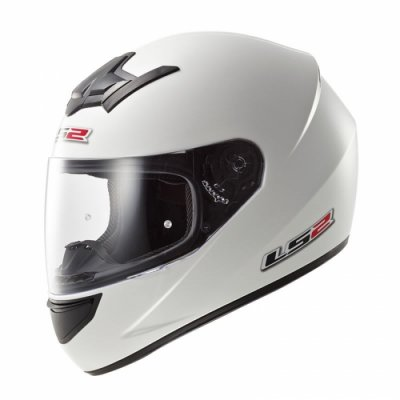 Шлем LS2 FF352 Solid White Gloss