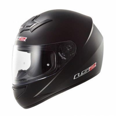 Шлем LS2 FF352 Solid Black Gloss