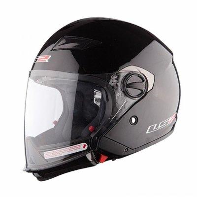 Шлем трансформер LS2 OF569 Scape Black Gloss