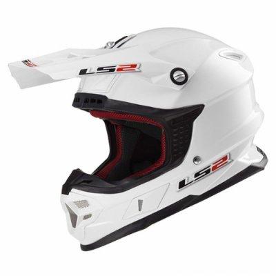 Кроссовый шлем LS2 MX456 White Gloss