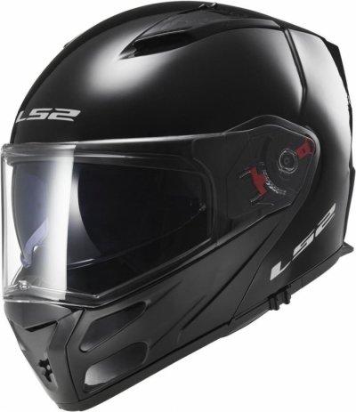 Шлем модуляр LS2 FF324 METRO SOLID BLACK