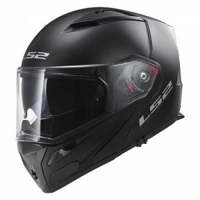 Шлем модуляр LS2 FF324 METRO SOLID MATT BLACK