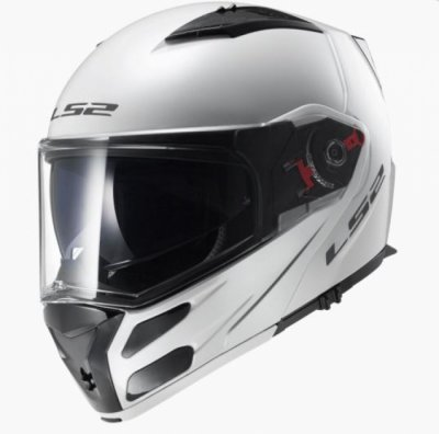Шлем модуляр LS2 FF324 METRO SOLID WHITE
