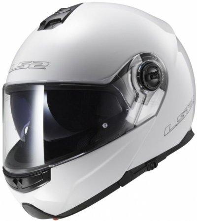 Шлем модуляр LS2 FF325 STROBE GLOSS WHITE