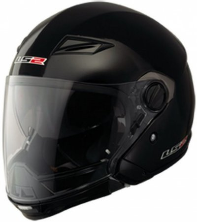 Шлем трансформер LS2 OF569 Scape Black Matt