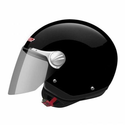 Открытый шлем LS2 OF560 Rocket II Solid Black Gloos