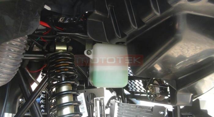 установка выноса радиатора cfmoto x8