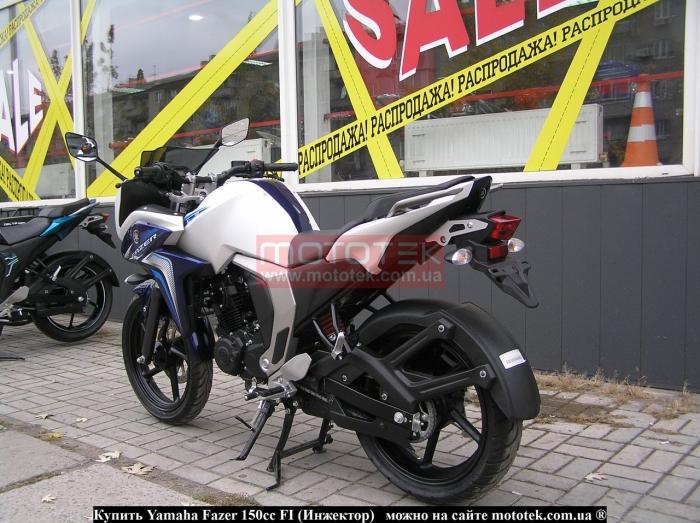 Yamaha Fazer 150cc FI видео