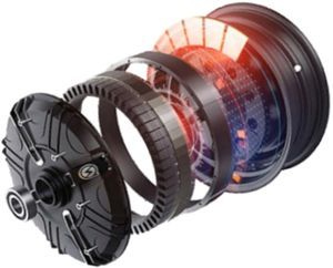 изображение двигателя электробайка CITYCOCO