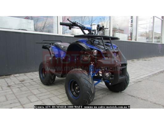 Квадроцикл електро ATV Hummer 1000 Watt / 48 Volt