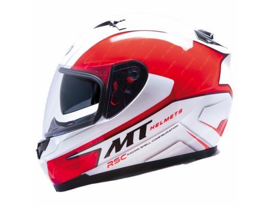 MT Helmets BLADE SV Boss red / white
