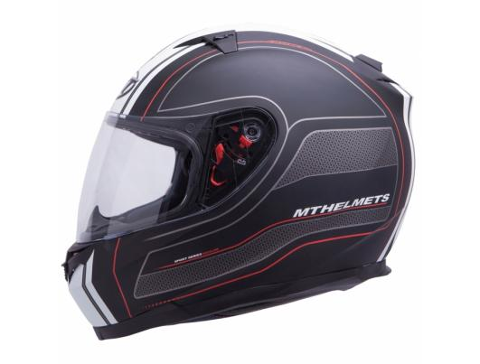 MT Helmets BLADE SV Raceline matt black/red