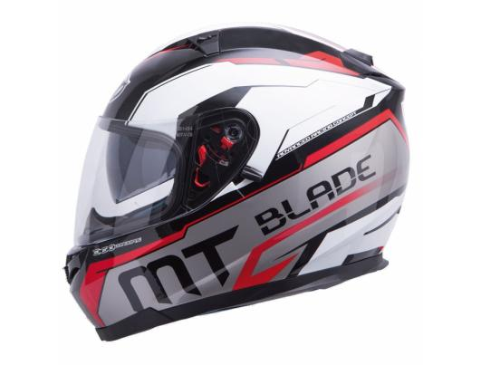 MT Helmets BLADE SV SUPER R black/white/red