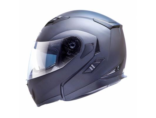 MT Helmets Flux Solid matt titanium