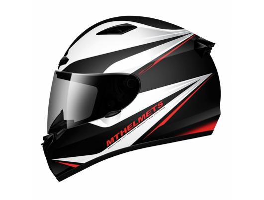 MT Helmets MATRIX Incisor black/white/red