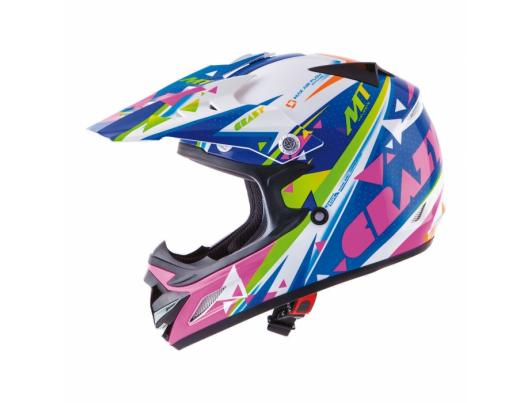 MT Helmets MX2 kids Crazy multicolor