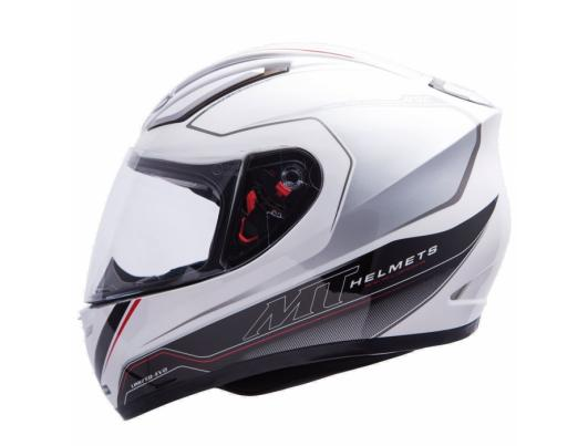 MT Helmets REVENGE LIMITED-EVO white / grey