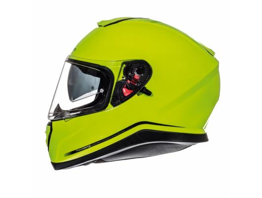 MT Helmets Thunder 3 Solid hi-viz yellow