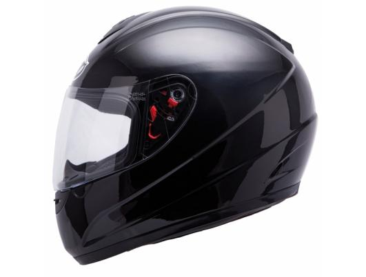 MT Helmets Thunder Solid black