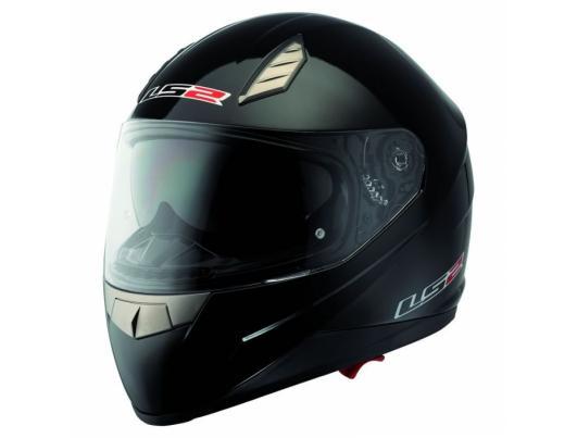 Шолом LS2 FF384 Solid Black